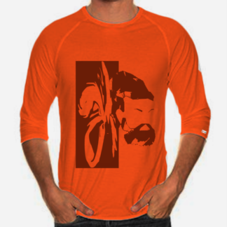 orange raglan mr.v front