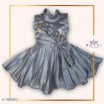 Princess Elegant Girls Frocks & Dresses-1